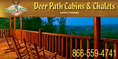 Ad - Deer Path Cabins: Click for website