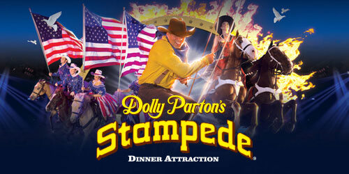 Ad - Dolly Parton's Stampede: Click to visit website