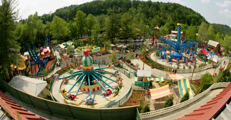 Dollywood Park Map on