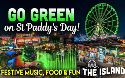 St. Patrick's Day at The Island: Click for event info.
