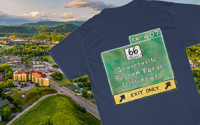 Ad - Exit 407 Shirt: Click to visit website.