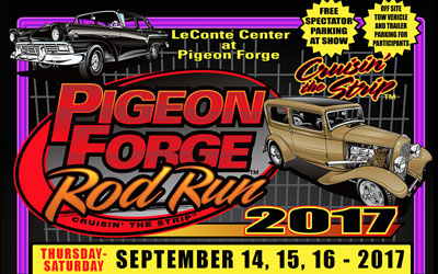Pigeon Forge Fall Rod Run 2017: Click for event info.