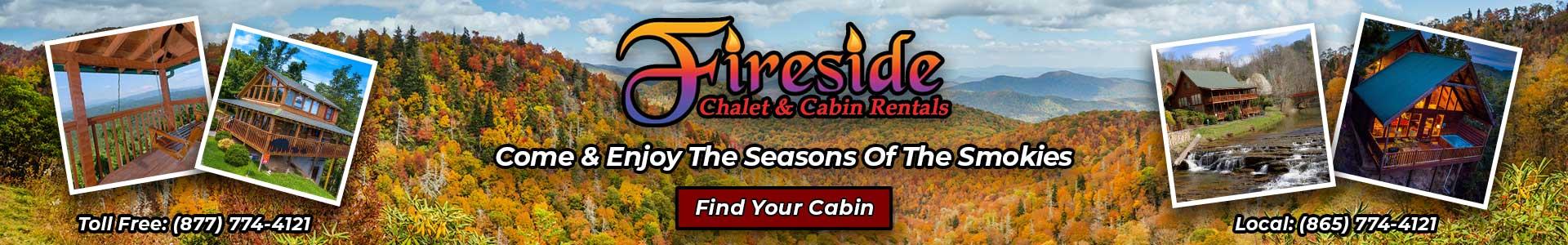 Ad - Fireside Chalets