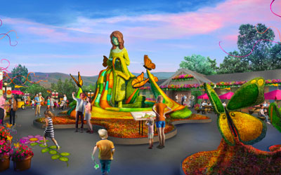 Dollywood's Flower & Food Festival: Click for event info