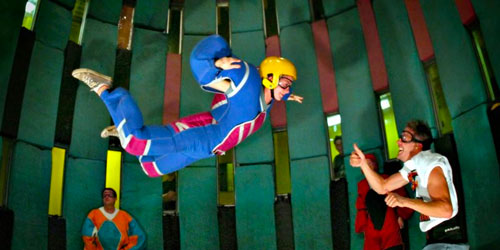 Indoor skydiving - things to do in Smoky Mountains