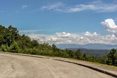 View of Foothills Parkway West Overlook #11