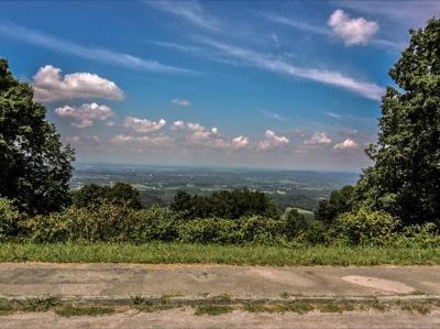 View of Foothills Parkway West Overlook #4