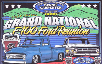 Grand National F-100 Ford Show: Click for event info