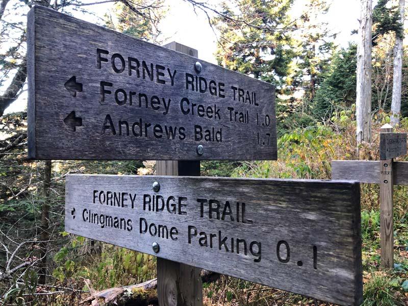 Forney Ridge Trail