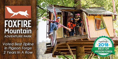 Ad - Foxfire Mountain Adventures: Click to visit website
