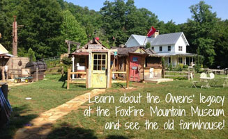 FoxFire Mountain: These Hills Have History: Click to read more.