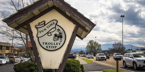Pigeon Forge Trolley Information: Click to visit page.