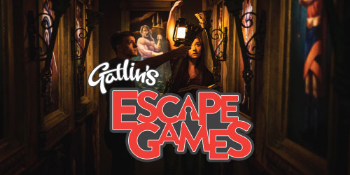 Ad - Gatlin's Escape Games: Click to visit website