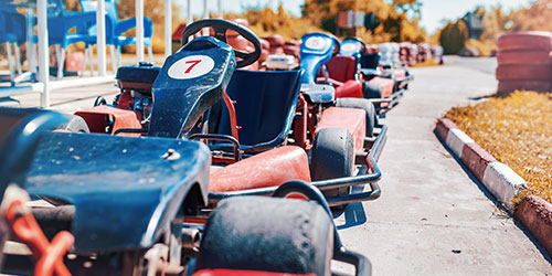 Go Karting: Click to visit page.