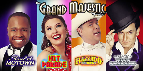 Ad - The Grand Majestic Theater: Click to visit website