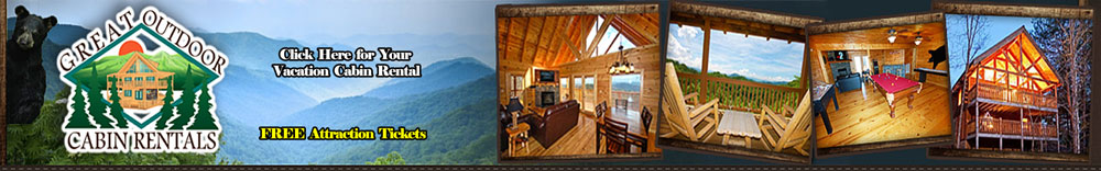 Ad - Great Outdoor Cabin Rentals: Click here for your vacation cabin rental. FREE attraction tickets.