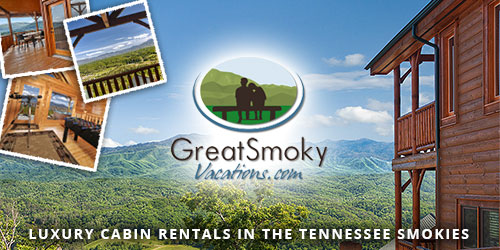 Ad - Great Smoky Vacations: Click for website