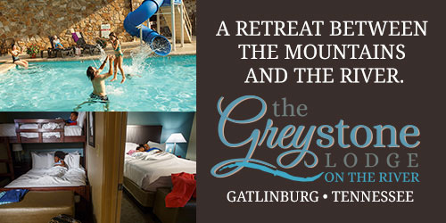 Ad - Greystone Lodge On The River: Click for website