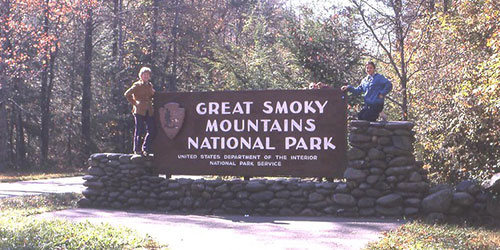 Great Smoky Mountains National Park: Click to visit page.