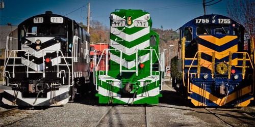Great Smoky Mountains Railroad Info: Click to visit page.