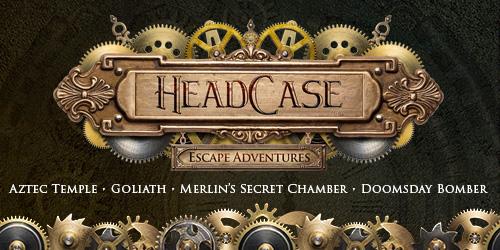 Ad - Headcase Escape Adventures: Click to visit website