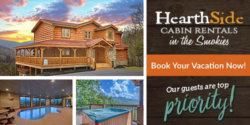 Ad - Hearthside Cabin Rentals: Click for website
