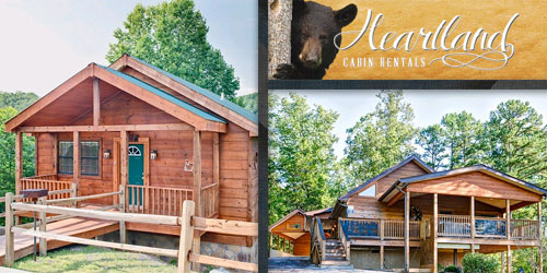 Ad - Heartland Cabin Rentals: Click for website