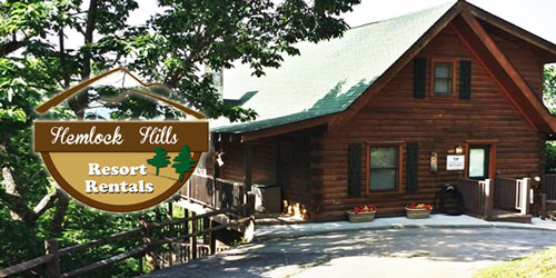 Ad - Hemlock Hills Resort Rentals: Click for website