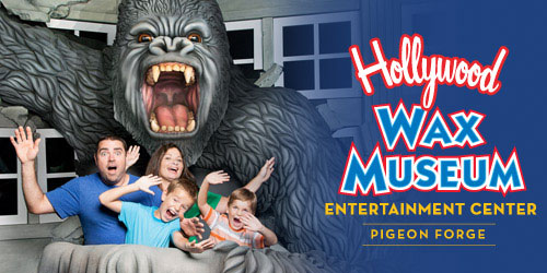 Ad - Hollywood Wax Museum Entertainment Center: Click to visit website