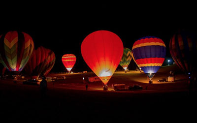 Great Smoky Mountains Hot Air Balloon Festival: Click for event info.