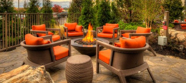 Pigeon Forge Hotels With Fire Pit + Outdoor Fireplace