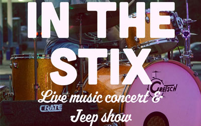 In The Stix Music Festival & Jeep Show: Click for event info.