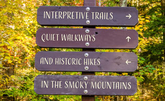 Interpretive Trails & Historic Hikes in the Smokies: Click to read more
