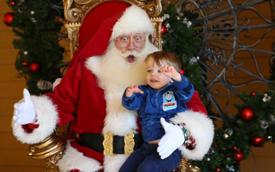 Photos With Santa At The Island: Click for event info.