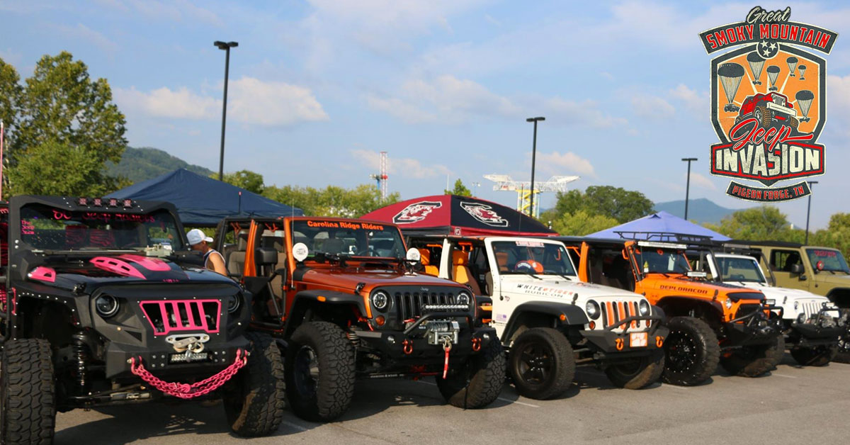 Great Smoky Mountain Jeep Invasion: Click to read more