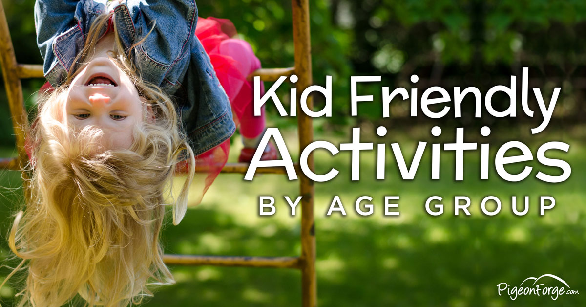 Things To Do With Kids In Pigeon Forge Activities For