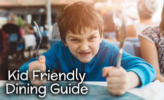 Kid Friendly Restaurants in Pigeon Forge