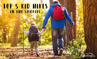 Top 5 Kid Hikes in the Smoky Mountains