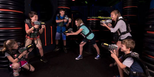 Lazerport Fun Center: Click to visit page.