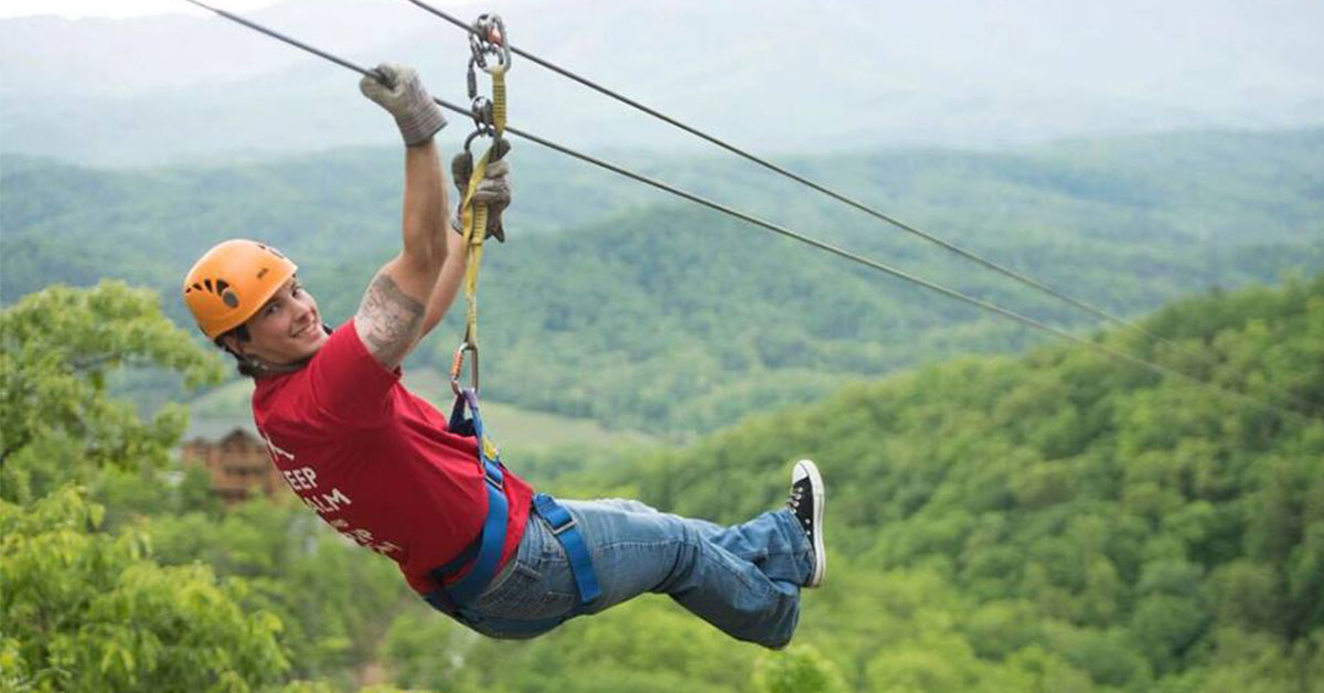 Legacy Mountain Ziplines Pigeon Forge Attractions