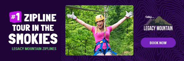 Ad - Legacy Mountain Ziplines: Visit website
