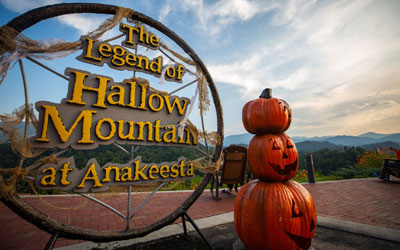 The Legend Of Hallow Mountain At Anakeesta