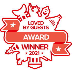 Hotels.com Loved By Guests Award Winner 2021