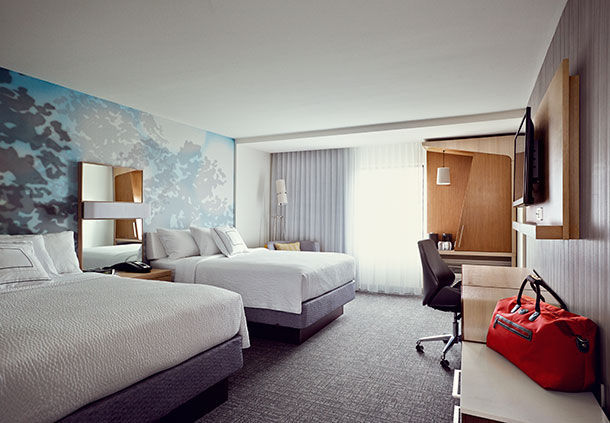 Pigeon forge welcomes the new courtyard by marriott for Design hotel quebec