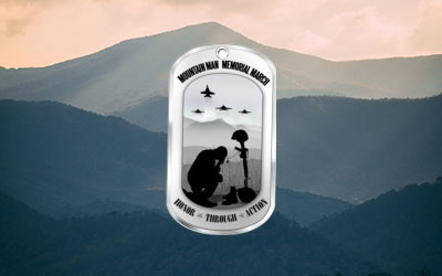 Mountain Man Memorial March: Virtual Race: Click for event info.