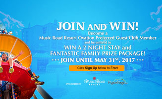 Music Road Resort Giveaway: Click to read more.