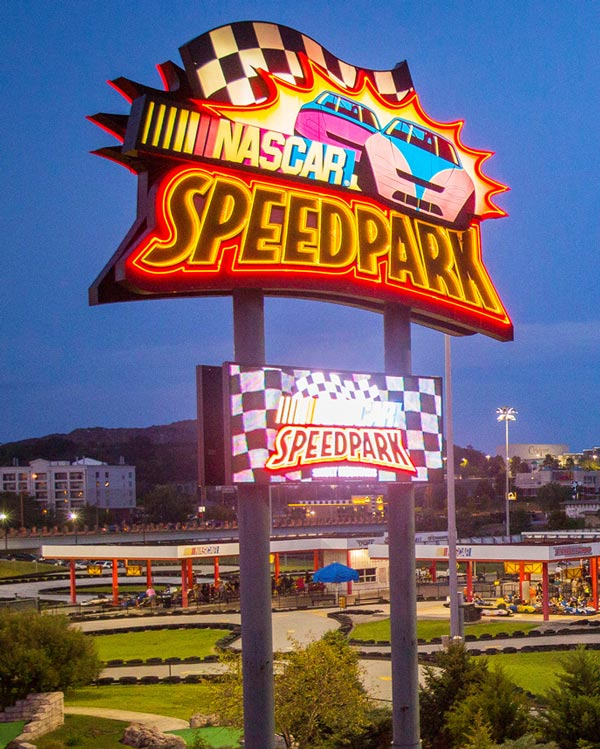 NASCAR SpeedPark: Click to go to page.