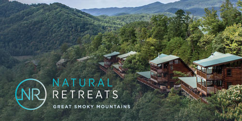 Ad - Natural Retreats Great Smoky Mountains: Click for website