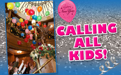 "Kids ""Noon Years Eve"" at the Titanic Museum @ Titanic Museum & Attraction   