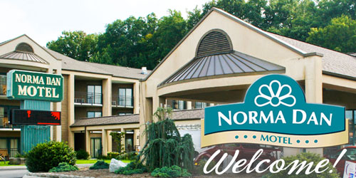 Ad - Norma Dan Motel: Click for website